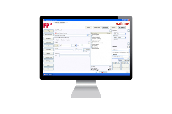 Mailing software demo