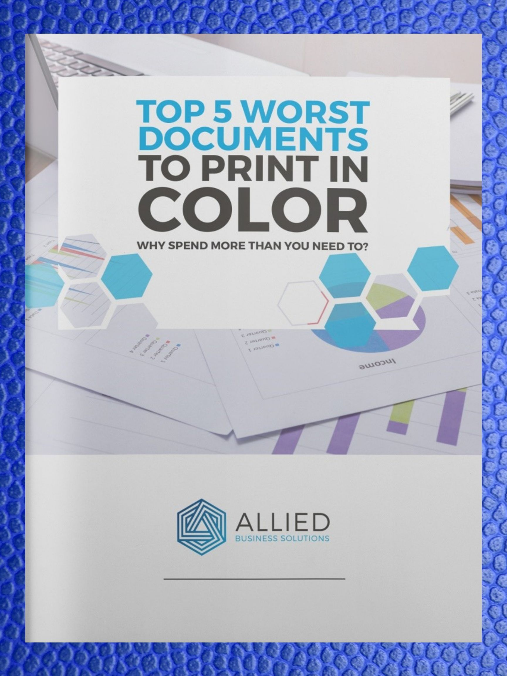 Worst Documents to Print in Color E-Book