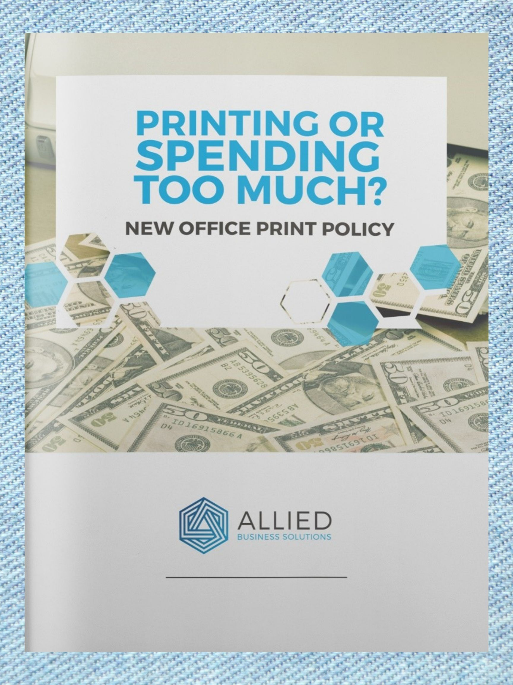 Printer Spending E-Book