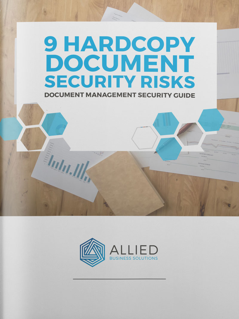 Hard Copy Document Security Risks E-Book
